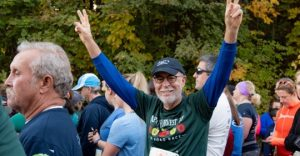 Congratulations to David Watters for completing his run